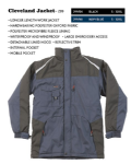 Tuffstuff Waterproof Cleveland Jacket (S- 3XL = 36-58)